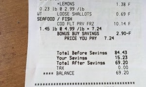 Savings at Stop and Shop from Dinner Daily menu for family dinners