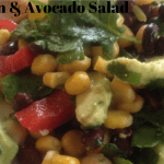 Kale Bean & Avocado Salad thin