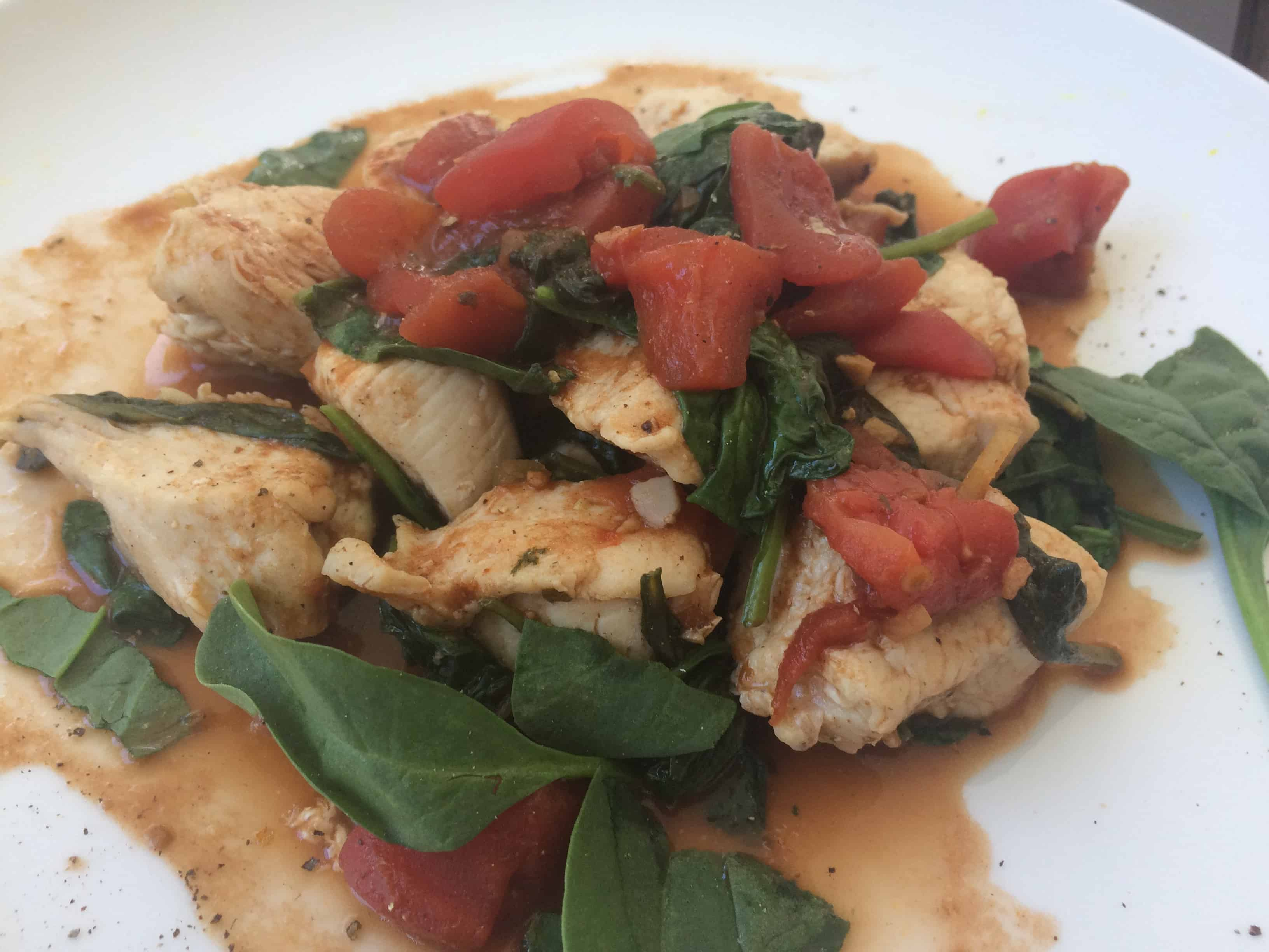 Easy Balsamic Garlic Chicken