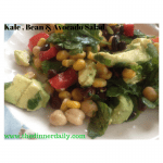 Bean Corn Avocado Salad
