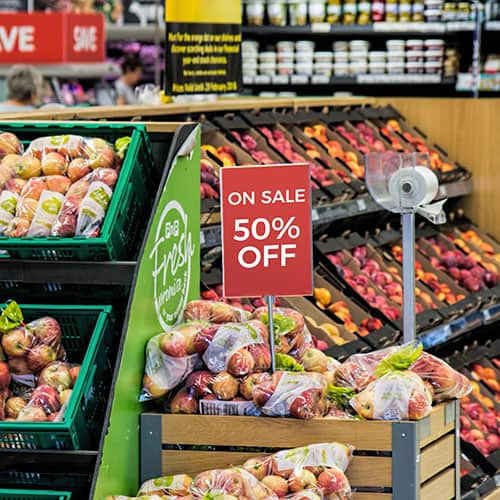 Meal planners take advantage of supermarket sales