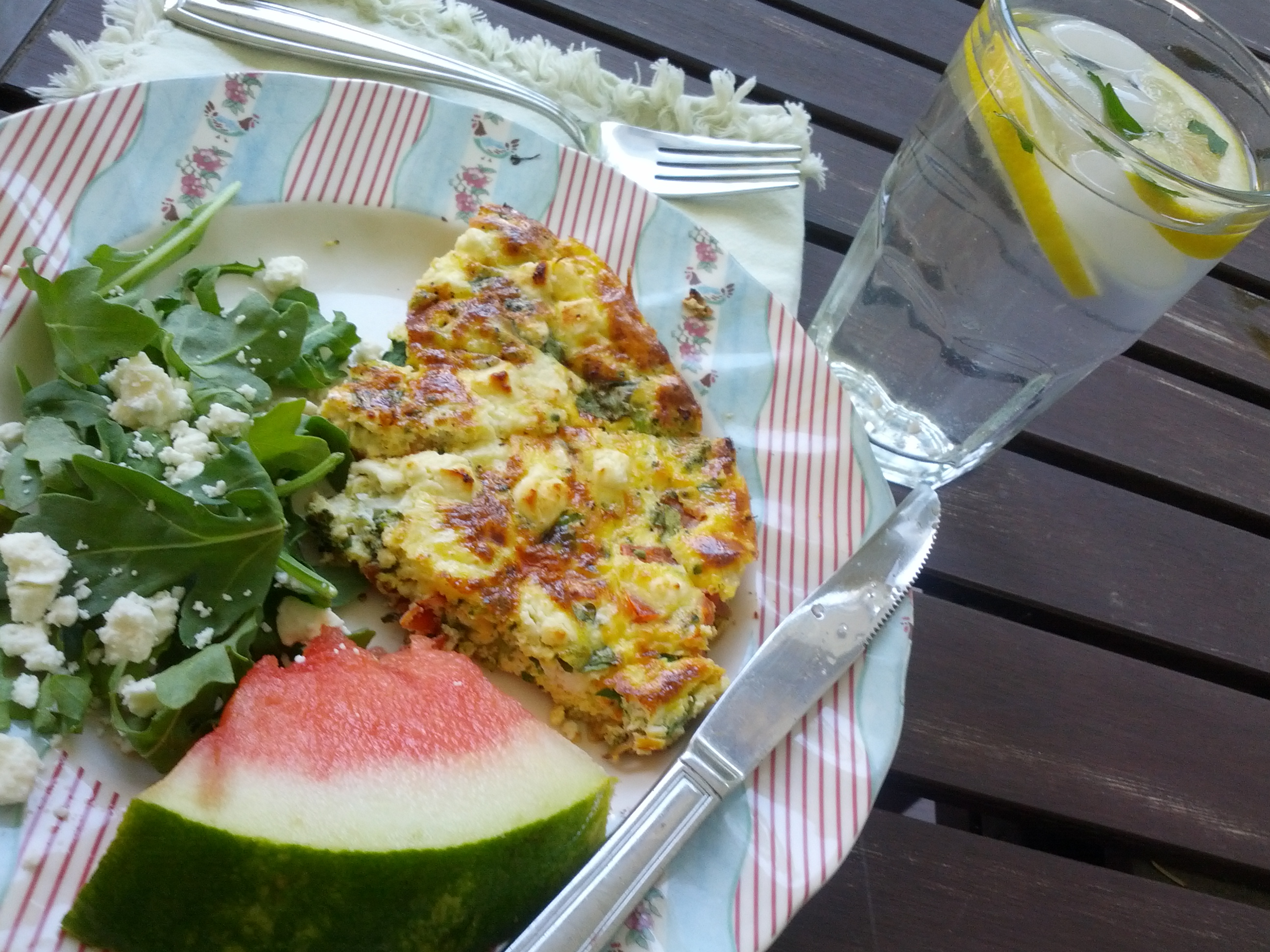 Easy Summer Frittata